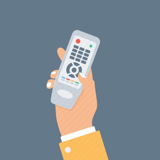 handheld device, multimedia remote, remote control, television remote control, tv controller icon