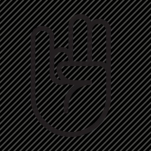 alien, finger, hand, sign, star trek icon