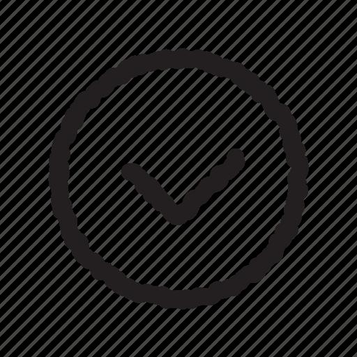 check, checkmate, complete, done icon