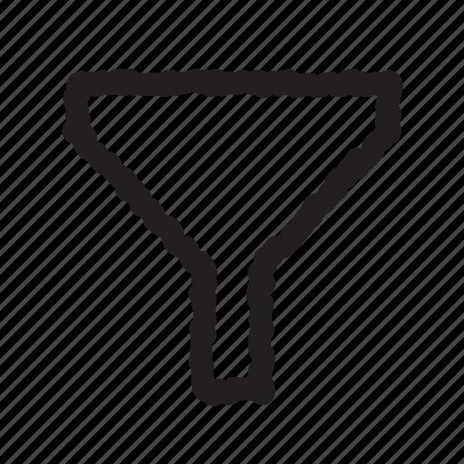 funnel, order, sort icon