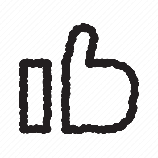 like, tumb, up icon