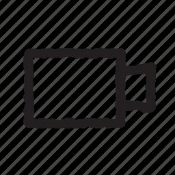 film, record, video icon