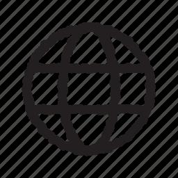 globe, international, language, world icon