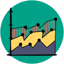 analytics, area, business, chart, graph, graphs, statistics icon