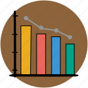 analytics, bar, business, chart, graph, graphs, statistics icon