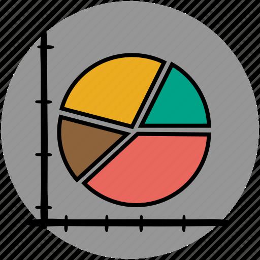 analytics, chart, diagram, graph, graphs, pie, statistics icon