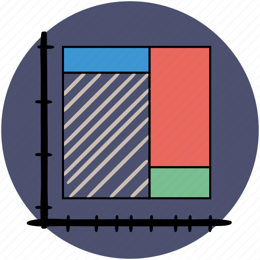 business, finance, grap, graphs, map, rectangle, report icon