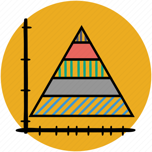 area, business, chart, graph, graphs, statistics, triangle icon