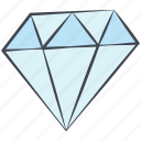 diamond, love, lovely, treasure, valentine, valentine's day icon
