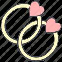 hearts, love, marriage, ring, valentine, valentine's day, wedding
