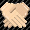 hand, shake icon