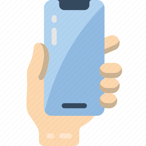holding, mobile icon