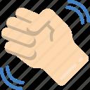 fist, shake icon