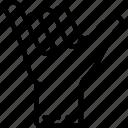 hang, loose icon