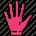 hand, open icon