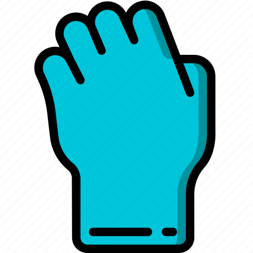 back, fist, view icon