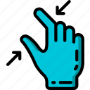 in, pinch icon