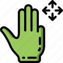 directional, movement icon