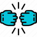 knuckle, touch icon