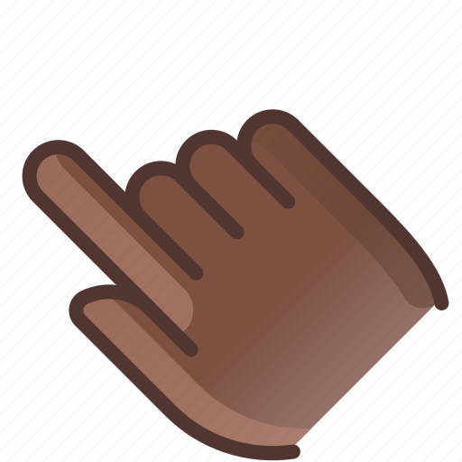 control, fingers, gesture, hand, show, tap, yumminky icon