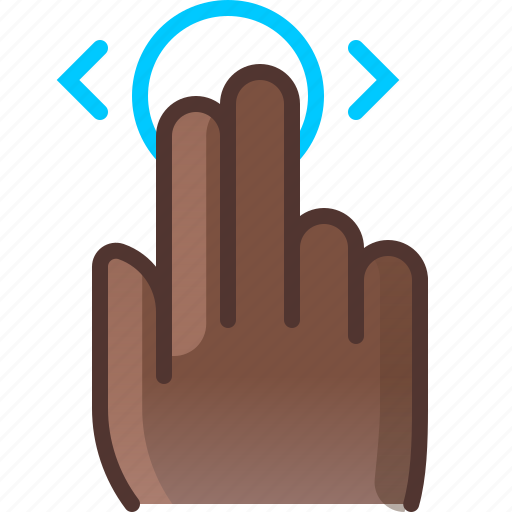 control, gesture, hand, hold, horizontal, touch, yumminky icon