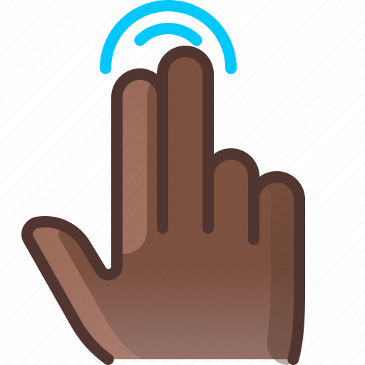 control, double, gesture, hand, tap, touch, yumminky icon
