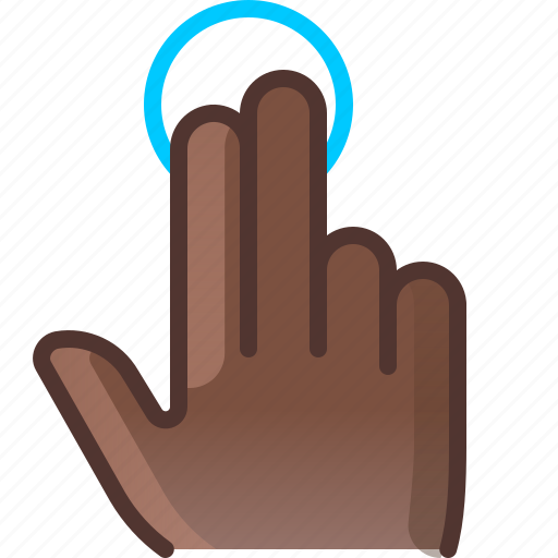 control, fingers, gesture, hand, hold, touch, yumminky icon