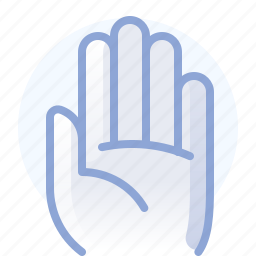 control, fingers, hand, hold, stop, touch, yumminky icon