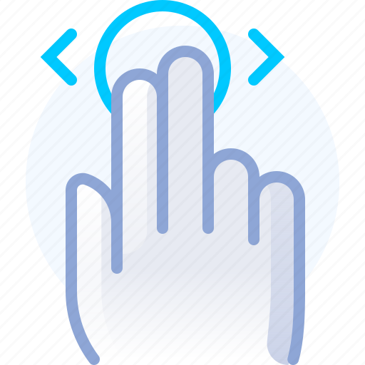 control, fingers, gesture, hand, touch, vertical icon