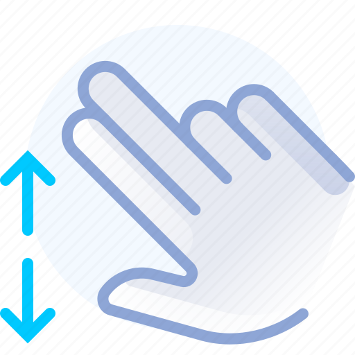 control, fingers, hand, spread, vertical, yumminky, zoom in icon