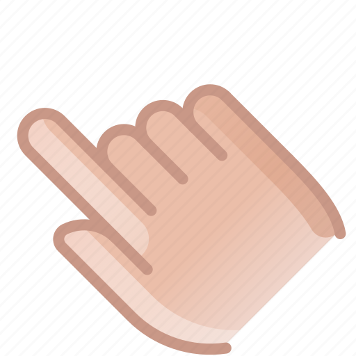 control, finger, gesture, hand, show, touch, yumminky icon