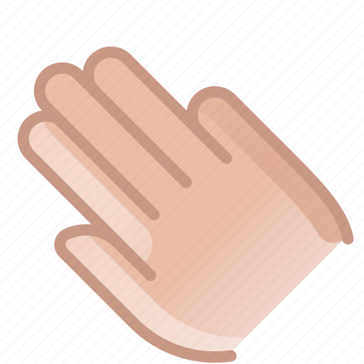 control, fingers, gesture, hand, push, touch, yumminky icon