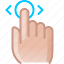 control, gesture, hand, hold, scroll, touch, yumminky icon