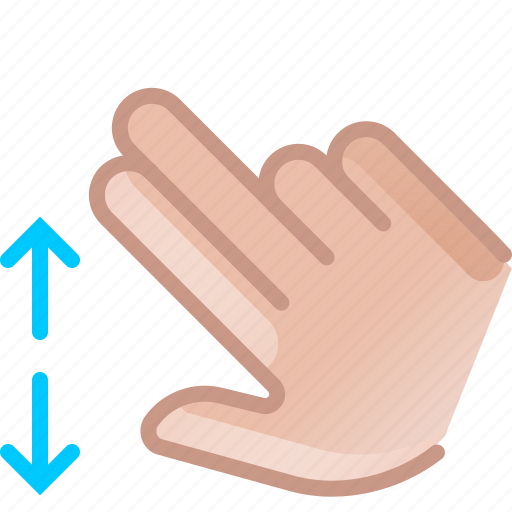 control, gesture, hand, scroll, spread, yumminky, zoom in icon