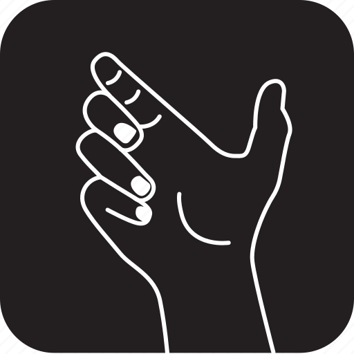 click, finger, gesture, hand, holding, something, touch icon