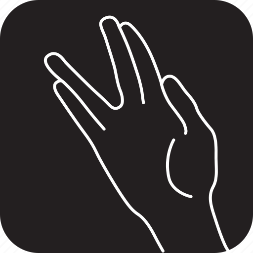 click, finger, gestures, hand, spread, touch icon
