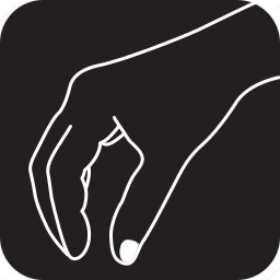 finger, gesture, gestures, hand, somthing, takes, touch icon