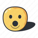 dropped, dropper, emoji, emoticon, emotion, jaw icon