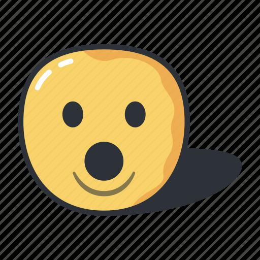 dropped, dropper, emoji, emoticon, emotion, jaw icon