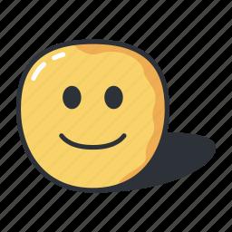 avatar, emoji, emoticon, emotion, slight, smile icon
