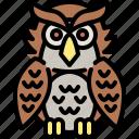 animal, bird, halloween, holidays, owl, party, scary