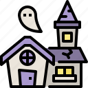 ghost, halloween, haunted, horror, house, party, scary