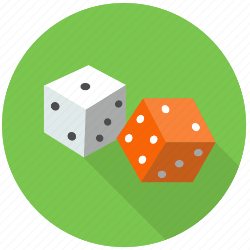 chance, cubes, dice, fortune, fun, gamble, game, lottery, play, random, single die, table game icon