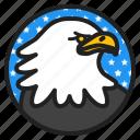 usa, independence, holiday, america, national, bird, eagle