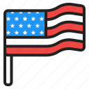 usa, independence, holiday, flag, america, american, national