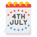 usa, independence, holiday, celebrations, calendar, july