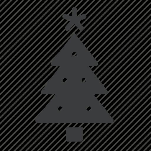 celebration, christmas, decoration, festival, new year, tree, winter icon