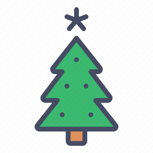 celebration, christmas, decoration, new, tree, year icon