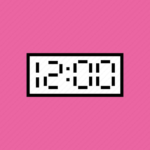 clock, countdown, eve, new year, night, time, twelve icon