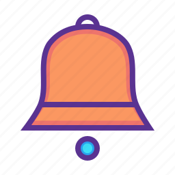 bell, christmas, jingle, new year, ring, sound, toll icon